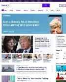 Yahoo+Inc Website