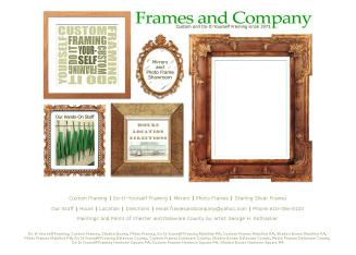 Frames+and+Company Website