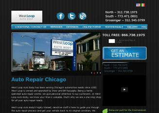 West+Loop+Auto+Body Website