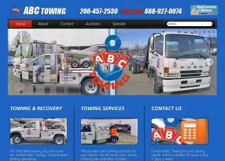 ABC+Towing Website