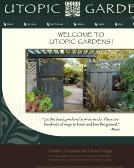 Utopic+Gardens Website