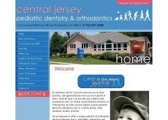 Central+Jersey+Pediatric+Dentistry+%26+Orthodontics Website