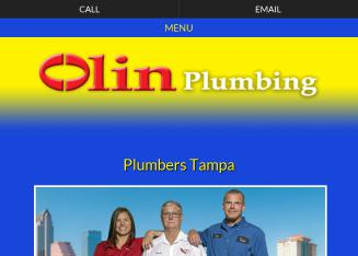 Olin+Plumbing+Inc Website
