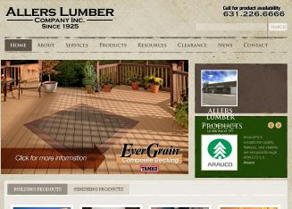 Allers+Lumber+CO+INC Website