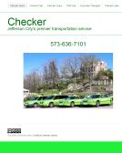 Checker+Cab+of+Jefferson+City+LLC Website