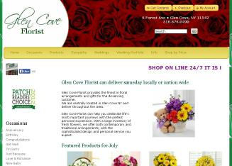 Glen+Cove+Florist Website