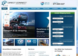 Direct+Connect+Auto+Transport Website