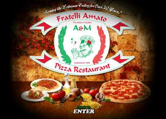 A+%26+M+Pizza+Restaurant Website