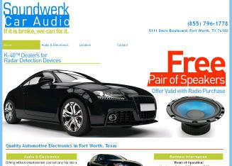 Soundwerk+Car+Audio+Systems Website