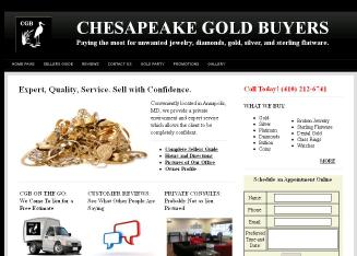 Chesapeake+Gold+Buyers Website