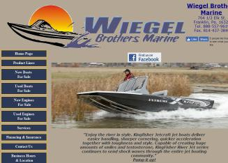 Wiegel+Brothers+Marine+INC Website