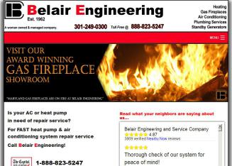 Belair+Engineering+And+Service+Co+Inc Website