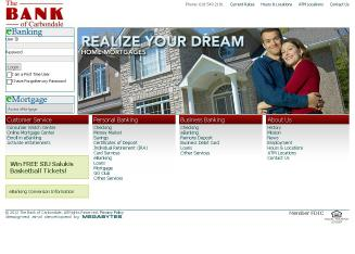 Bank+of+Carbondale Website