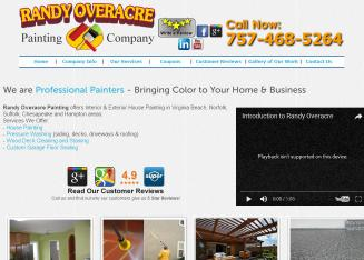 Randy+Overacre+Painting+Co+Inc Website