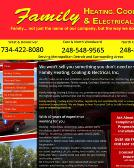 Family Heating Cooling & Electrical Inc.