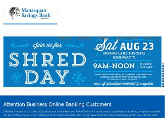 Manasquan Savings Bank