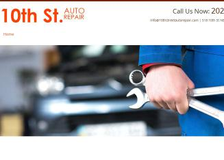 10th+Street+Auto+Repair Website
