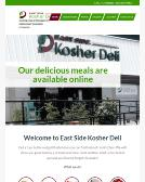 East+Side+Kosher+Deli Website