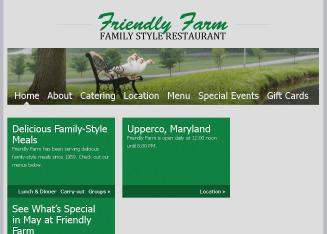 Friendly+Farm Website