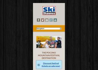 Shawnee+Mountain+Ski+Area Website