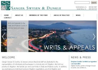 Sanger+Robert+M+Attorney+At+Law Website