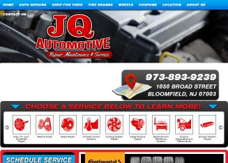 J+Q+Automotive Website