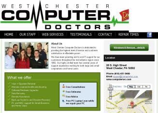 West+Chester+Computer+Doctors Website