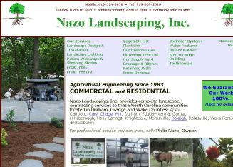 Nazo+Landscaping Website