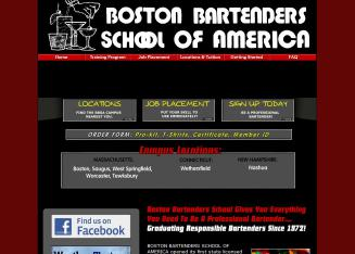 Boston+Bartenders+School+Of+America+-+Worcester Website