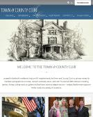 Town+%26+County+Club Website