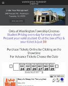 Clearview's Washington Township Cinema 3