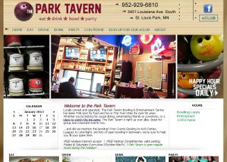 Park+Tavern+Lounge+and+Lanes Website