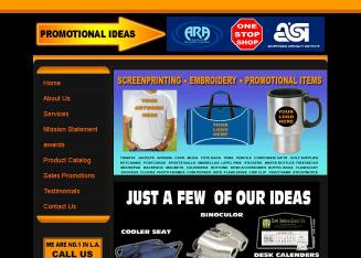 A+Promotional+Ideas Website
