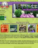 B.B.+Barns+Garden+Center Website