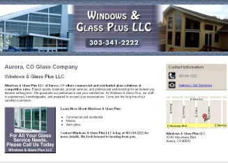 Windows+%26+Glass+Plus Website