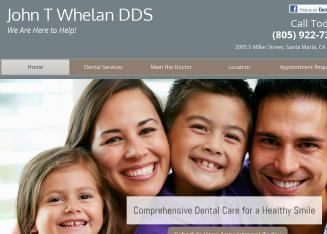 John T Whelan DDS