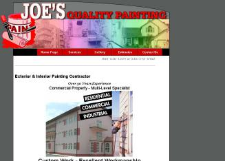 Joe%27s+Quality+Painting Website