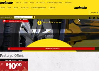 Meineke+Car+Care+Center Website