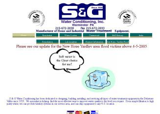 Accu-Water Div.of S & G Water Conditioning