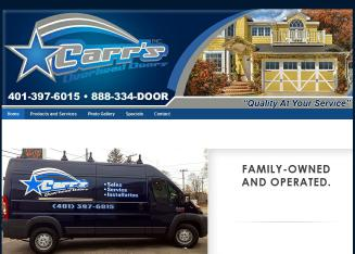 Carr%27s+Overhead+Doors+Inc. Website