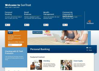 SunTrust Bank - The Right Way To Bank? Yours.