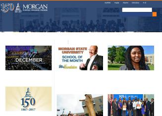 Morgan+State+University Website