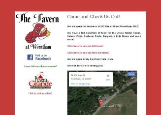 The+Tavern+At+Wrentham Website