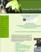 Holistic+Pet+Vet+Clinic Website
