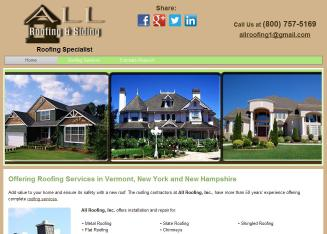 ALL+Roofing+Co Website
