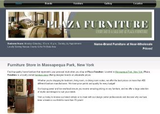 Plaza+Furniture Website