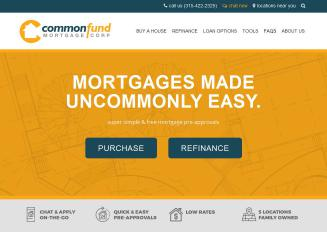 CommonFund+Mortgage+Corp Website