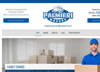 Palmieri+Movers Website