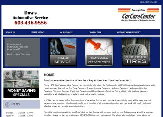 Dow%27s+Automotive+Service Website