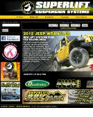 Superlift+Off+Road+Vehicle+PRK Website